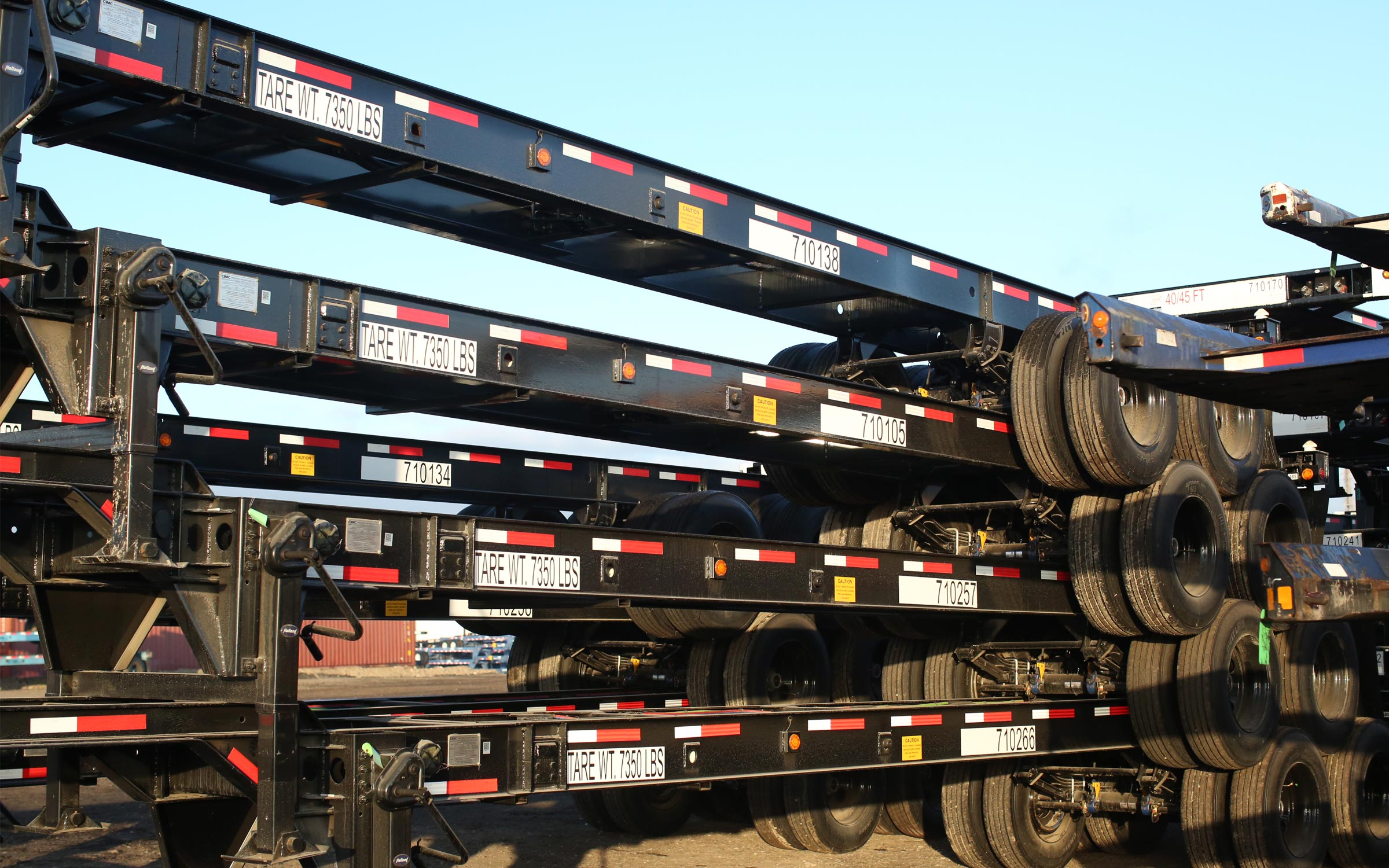 Chassis pools to lease from