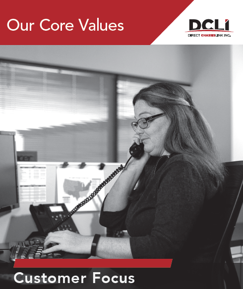 Customer Focus - one of DCLI's Core Values